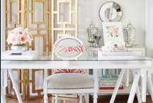 Home Office Inspiration / Boring home office? Check out these gorgeous examples for ideas to crib from!
