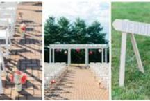 Wedding Ceremony Decor / Ideas and inspiration to make your wedding as beautiful as possible!