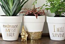 Crafty & Creative: DIYs & Ideas / Some of our favorite Home Decor, Organization, & Interior Design Do-It-Yourself Projects, Crafts & Tips!