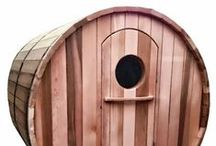 Our Barrel Saunas / Top of the range Ukko Barrel saunas will make a great addition to your backyard...