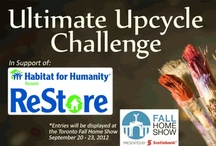 UPCYCLE CHALLENGE / #Decor & #DIY bloggers have taken part in the Ultimate Upcycle Challenge at many of our home shows.  Get inspired by these amazingly repurposed furniture pieces. Enjoy! / by Home & Garden Events