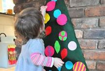 Christmas / Fun ideas to make a special Christmas at home and in a classroom, including decoration, learning, crafts and art projects.