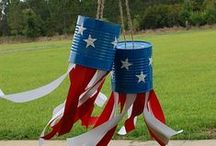 Patriotic Holidays / Ideas for patriotic holidays (July 4th, Presidents day, etc.) at home and in a classroom, including decoration, learning, crafts and art projects.