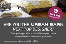 Urban Barn's Next Top Designer Sweepstakes  / Catch our eye with your amazing sense of style, and you could be one of three finalists chosen to compete in Urban Barn's Next Top Designer challenge at the Vancouver Home + Design Show, October 17-20, 2013 at BC Place.  For more info check out www.vancouverhomeanddesignshow.com / by Home & Garden Events