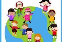 Cultures du Monde / Activités pour éveiller les enfants aux cultures et coutumes du monde entier www.linguatoys.com