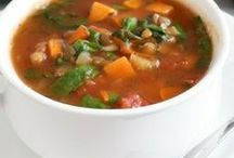 Soups / by Janice Tobiasson