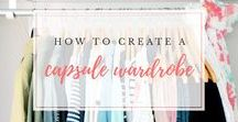 Capsule Wardrobe Inspiration / Check out these pins before putting your capsule wardrobe together!