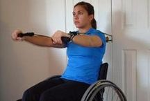 Wheelchair Fitness / by Whitney Sivill