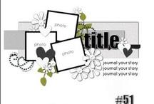 Scrapbook Layout Ideas / Www.debistonewall.origamiowl.com / by Debi Stonewall