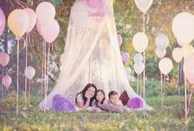 Girls B~day party~ ideas & inspiration / by Mackenzie Wheeles