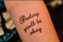 Tattoos / by Brittani Jones
