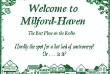 Milford-Haven USA Radio Drama / Evolution of branding & art for the original radio series