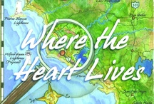Where the Heart Lives / Book 2 - The Milford-Haven Novels, a California Coastal Saga. Artist Miranda Jones has run away from home. She's struck a blow for freedom by listening to her heart and moving where her heart led. But as she settles in this new place on the physical map, how can she keep her spot on the professional map? How can she re-map the course of her emotional life? Will the heart prove a better navigator than the head?