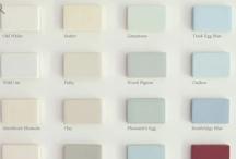 Colour Inspirations / Paint colour inspirations for our Kitchen Dresser designs