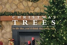 Artificial Christmas Trees & More / These trees may not be natural but there is nothing fake about the sheer joy and merriment they create!