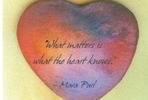 Mara's Heart Quotation Tiles / Share, print, save in whatever way inspires you!