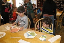 pre-Passover get-together at Doin' Dishes in Montclair / 20 families will have brand-new seder plates to use this year courtesy of MetroWest's Montclair Area Jewish Family Concierge, which hosted a seder plate painting get-together at Doin' Dishes in Montclair. The families also enjoyed PJ Library Passover stories and singing Dayenu together. Learn more about this great new addition to services supported by Jewish Federation of Greater MetroWest NJ by contacting Emmy Atlas at (973) 929-2968 or eatlas@jfedgmw.org.