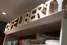 Liberty Kitchen Dressers / Our Kitchen Dressers in Liberty, London.
