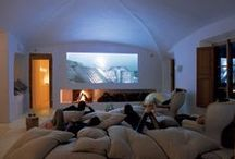 """Home Theater Ideas / Search for your perfect home theater in this beautiful """"Home Theater Ideas"""" collection."""