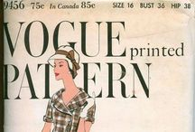 Couture - 30s-70s Sewing Patterns / Sewing, couture, design, patterns / by Debra Drake
