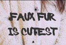 Faux fur is cutest - RE ARMA DE INVIERNO / Looks realizados con prendas de nuestras últimas colecciones F/W con 50% OFF! Votá tus looks preferidos para obtener descuentos extras durante el fin de semana. / by Bellmur