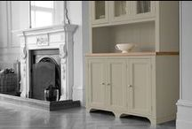 The Kitchen Dresser Company - Borough Collection / This collection offers affordable luxury. These Oak dressers are statement pieces.