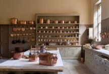 Kitchen Dresser Inspiration - Stately Homes / Kitchen dresser inspiration and ideas we have admired on our travels