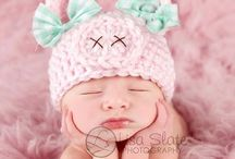 Crochet for the Noggin / Hats and Headbands / by April Guerra Page