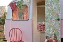 Glamping / Retro Campers / by Debi Stonewall