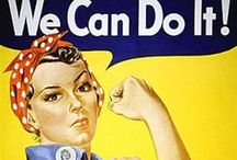 Vintage Construction PinUps / A collection of #pinup posters depicting various #construction work.