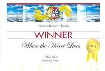 Milford-Haven Book Awards Certificates / So very honored and encouraged to have received these literary awards!