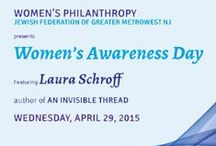 "Women's Awareness Day 2015 / Women's Awareness Day was quite an inspirational program for the more than 300 women who attended.   Laura Schroff, author of The Invisible Thread and the keynote speaker, shared her amazing story of meeting Maurice, an 11 year old who was panhandling on the streets of New York City who turned to her one day and said, ""I am hungry."""