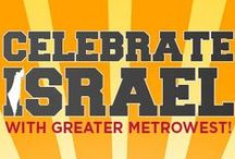 Celebrate Israel Yom Ha'atzmaut Events / Jewish Federation of Greater MetroWest NJ celebrated Yom Ha'atzmaut, Israel's 67th birthday, with a wide range of programs across Essex, Morris, and Union counties.