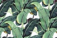 Gone Bananas / All the heart eyes for Banana Leaf, Palm, Martinique Print
