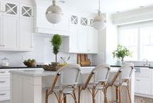 View Cove Kitchen / Light, airy, white, clean, Transitional.