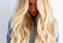 hair { blonde }