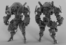 Mechs / by Jake Parker