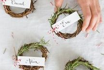 Wedding Details / Wedding menus, table numbers, and all that extra fun stuff