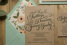 invitations/cards / by Hayley England