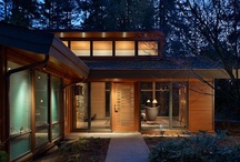 Small Houses / I love small (not tiny) houses.  Prefer 1000 square feet or slightly less...
