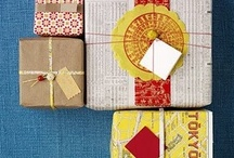 gifts and wraps / by Pockets of Art