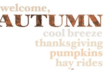 welcome, Autumn / Celebrating the season of autumn and it's holidays with fun crafts, delicious food and exciting family adventures. / by ThisBusyLife <3