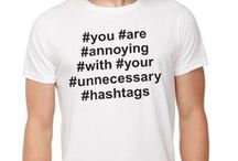 #Hashtag. / #Just #some #fun #things #about #hashtags. Oh and jokes. Lots of jokes.