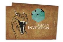 WEDDING   Game of Thrones Wedding Theme / Create your fantasy wedding around a Game of Thrones theme. We've got some great wedding invitations and other stationery available to match your big day!