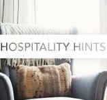 Hospitality Hints