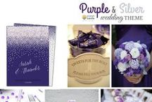 WEDDING   Cadbury's Purple & Silver Sparkle / We first fell in love with that deep cadbury's purple as a child, when we were offered our first chocolate treat. This shade of purple will instantly evoke luxurious, happy memories making it the perfect colour to include in your wedding colour scheme. Include a dash of silver or a bit of sparkle and you're ready to start building your wedding theme!