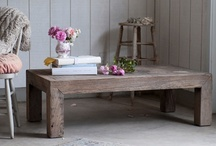 Coffee Tables / by Rachel Ashwell Shabby Chic Couture