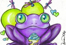 Frogs and Turtle Love !!! / by Sandy (Girlyfrog) Eyler