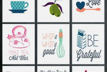 Fonts, printables and scrapbooking
