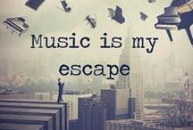 MUSiC 2 mY ears / Songs, videos, lyrics, movie soundtracks, quotes & favorite bands.   / by Griselda Pinedo